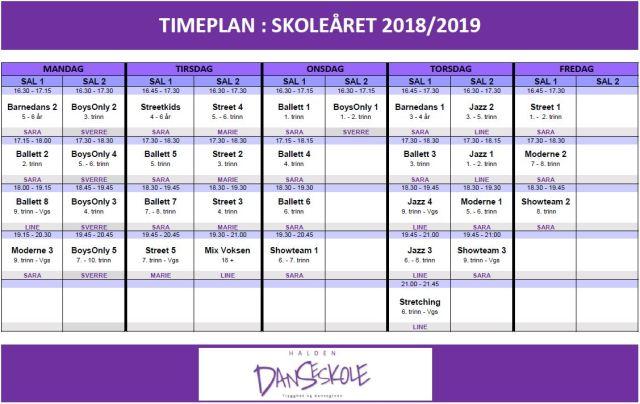 TIMEPLAN_HDS_VÅREN2019