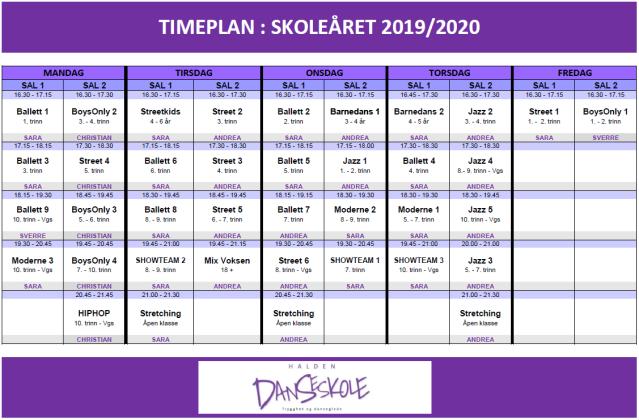 TIMEPLAN_HDS_HØST2019VÅR2020