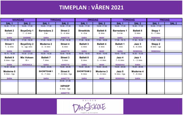 TIMEPLAN_VÅREN2021